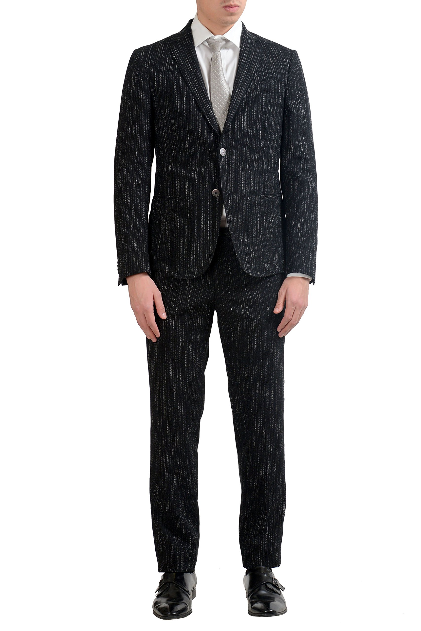 Hugo Boss ''Nivan/Benno1'' Men's Stretch Travel Two Button Suit US 38R IT 48R