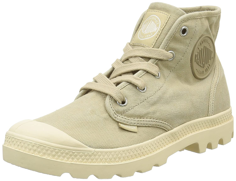 Palladium Womens Pampa Hi Canvas Boots B01I3HC6SU 7 B(M) US|Sahara