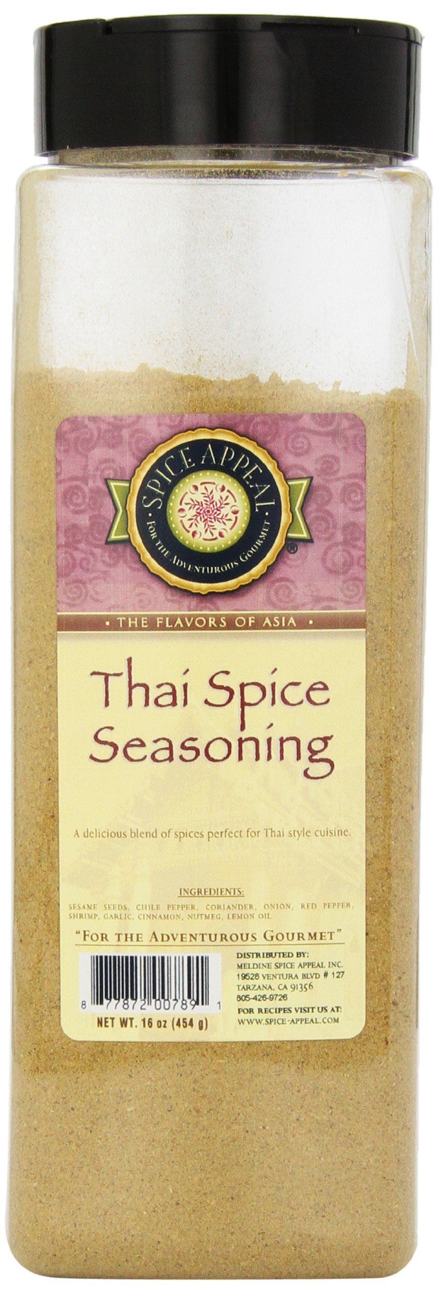 Spice Appeal Thai Spice Seasoning, 16 Ounce