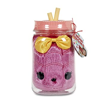 MGA Entertainment Num Noms Surprise in a Jar- Raz Sugar Animales de Juguete Rosa -