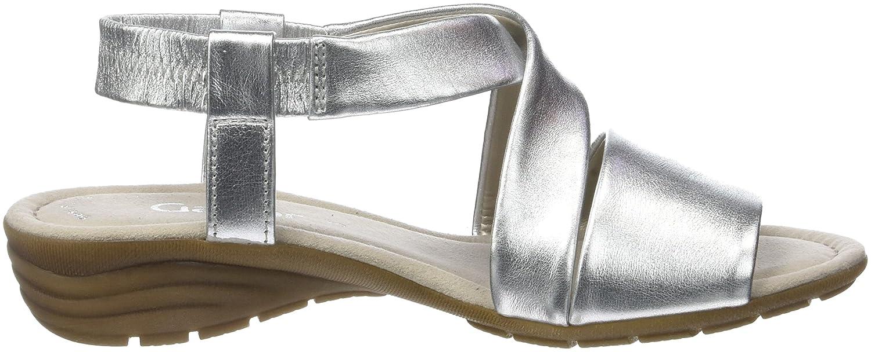 Gabor RiemchenSandale Damen Casual RiemchenSandale Gabor Mehrfarbig (Silber) 110454
