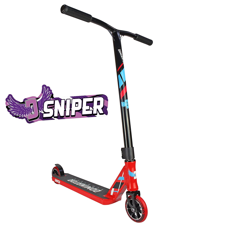 Dominator Sniper Scooter - Red/Black Dominator Scooters