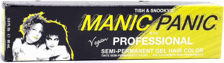 MANIC PANIC Professional Solar Yellow 90ML, 90 ml