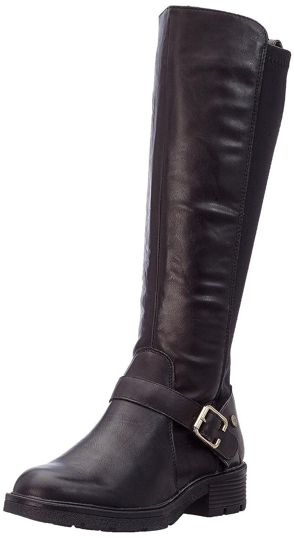 Xti 047341, Bottes Motardes Femme, Noir (Black Black), 39 EU