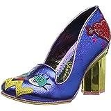 Choice Para De Zapatos Punta Cerrada Irregular Jean Nora Con Tacón gzdgqPn
