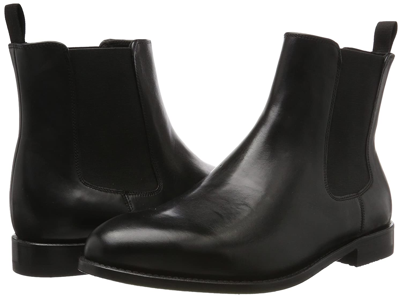 Ellis Franklin, Bottes Chelsea Homme, Noir (Black Leather), 43 EUClarks