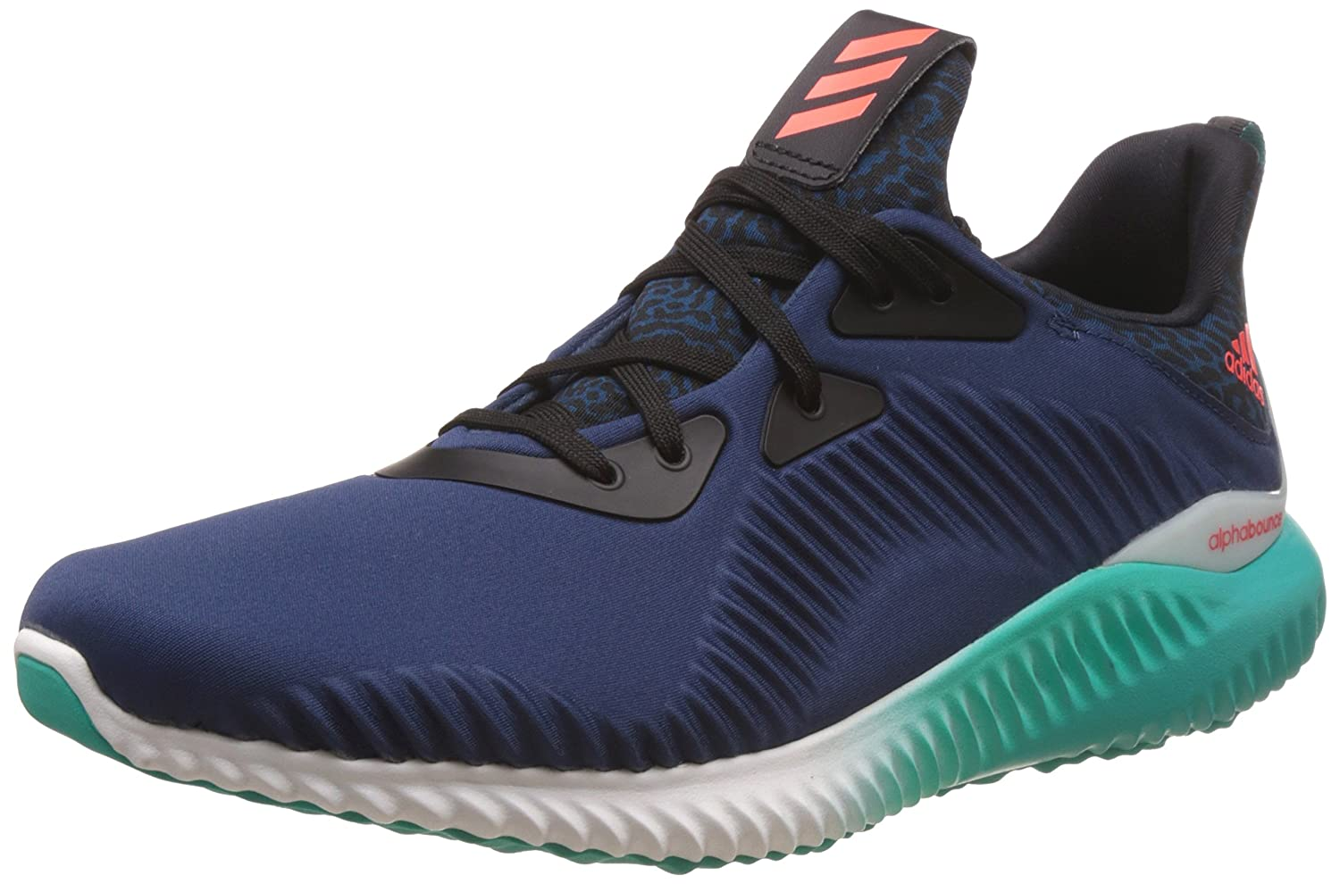 adidas Men\u0027s Alphabounce M Minblu, Solred and Shogrn Running Shoes - 10  UK/India (44.7 EU): Buy Online at Low Prices in India - Amazon.in