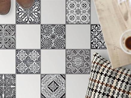 Decorazione pavimento piastrelle autoadesive | Adesivi murali ...