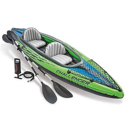 Review Intex Challenger K2 Kayak,