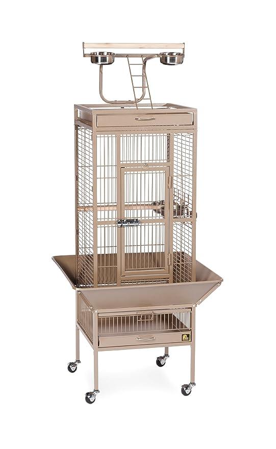 Jaula para pájaros de Hierro Forjado de Prevue Pets, Color Negro ...