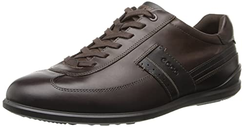 827dc93904 Amazon.com | ECCO Men's Chander Dress Sneaker Oxford | Fashion Sneakers