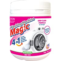 Washing Machine Magic 4-in-1 Washing Machine Magic Deep Clean Formula, Cleans, Descales, Sanitises and Deodorises.