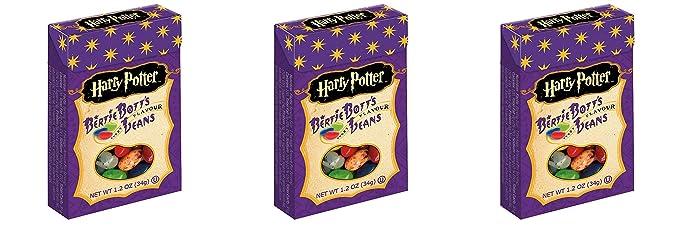 Dreifache Magie! 3 Packungen X Harry Potter Bertie Botts Jeder Geschmack Jelly Beans !!