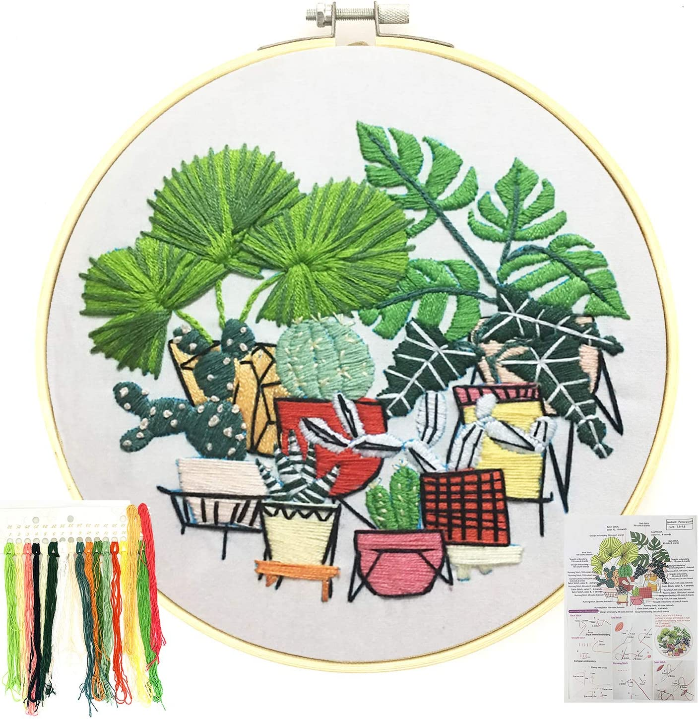 Free Amazon Promo Code 2020 for 3 Pack Embroidery Kit for Beginners