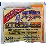 4099 Great Northern Popcorn Premium, Popcorn Portion Packs, 2.5 Ounce (Pack of 24)