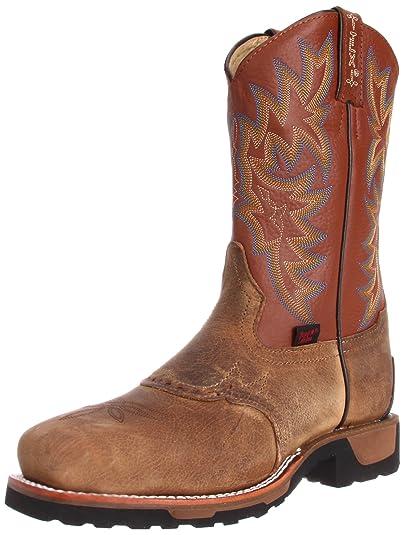 b083ab9cbdc Tony Lama Boots Men's Steel Toe TW1052 Work Boot