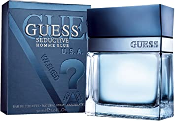 Amazon.com   Guess Seductive Homme Blue Eau de Toilette Spray for Men    Beauty a0308fc3ce