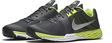 sale retailer daa9b f78f0 Nike Men s Train Prime Iron DF Cross Trainer, Anthracite Metallic  Silver Volt