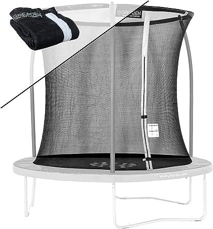 Hauteur 180cm pour rampoline 250 305 360 430 cm R/ésistant aux UV GREADEN Filet de s/écurit/é et Remplacement de Protection pour Trampolines