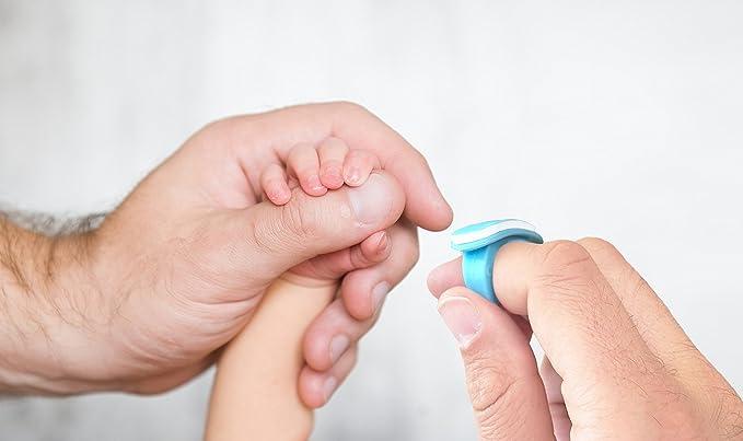 Bebon - Juego de cuidado de uñas para bebés, práctico juego de ...