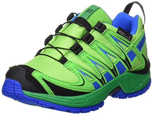 Salomon L39043400, Zapatillas de Trail Running para Niños, Verde (Tonic Athletic Green X/Union), 33 EU: Salomon: Amazon.es: Zapatos y complementos