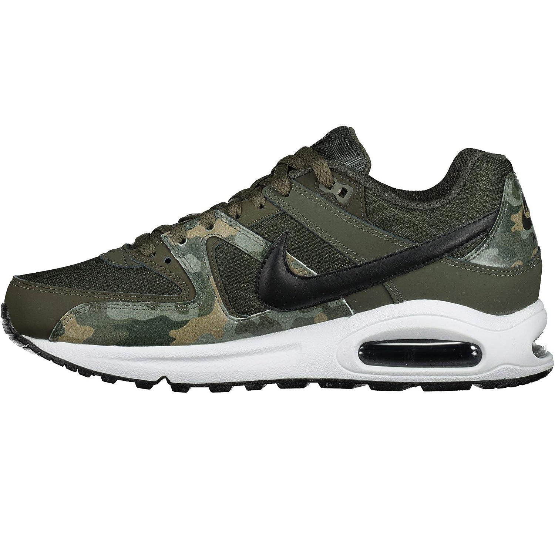 NIKE Herren Air Max Command Sneakers, Mehrfarbig (SequoiaBlackWhite 001), 42.5 EU