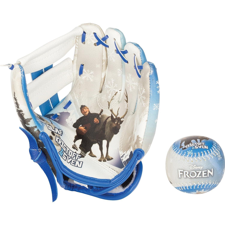 Franklin Sports Disney Frozen Air-Tech Glove and Ball Set-Elsa/Anna 82030