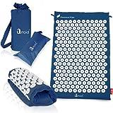 Artoid Mode 2 tappetini per digitopressione collegabili, Set per Agopressione con 9315 Punti di Pressione per Una Migliore circolazione sanguigna, Possono Essere arrotolati Come Un Cuscino