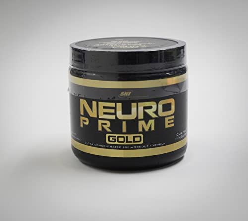 Pre Workout SNI Neuro Prime Gold Increase Endurance, Nitric Oxide Muscle Boosting Pre-Workout. with just The Right Amount of Caffeine for All. Ultimate pre Workout.