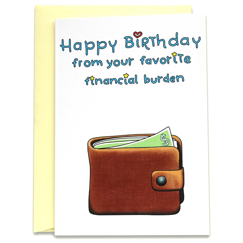Happy Birthday Humour Dad Funny Card Zazzle Ca