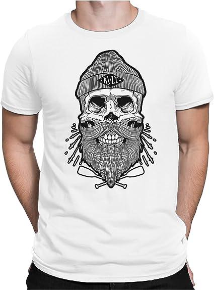 t-shirt tête de mort homme 8