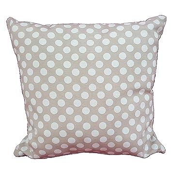 Kissen Wohnzimmer Grau Punkte Weiss 40 X Mbel Haus Sofa Bett Aus Baumwolle