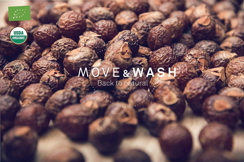 74e2c1be3 Move & Wash Detergente Vegetal - Ecológico Certificado - 100 dosis en Bolsa  de Papel - Ampliar imagen