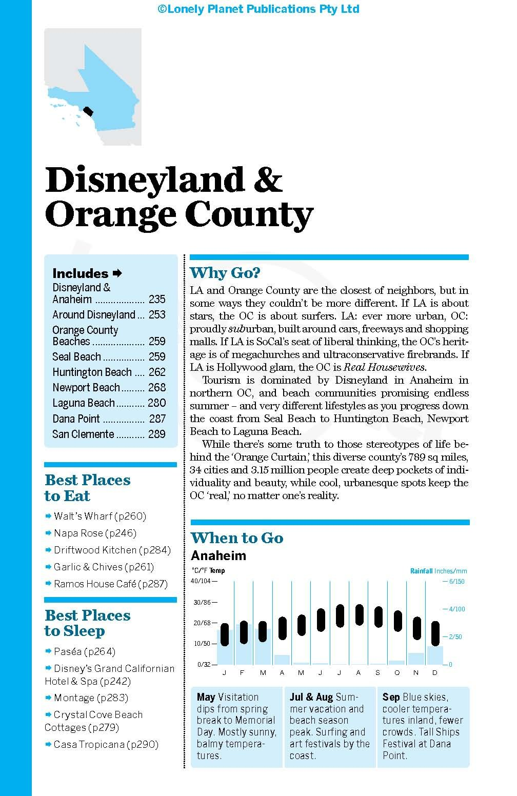 Lonely Planet Los Angeles, San Diego & Southern California (Travel ...