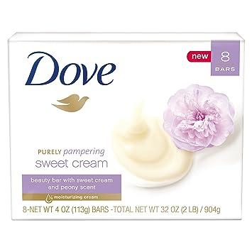 b6442a9c82d Amazon.com : Dove Purely Pampering Beauty Bar, Sweet Cream & Peony ...