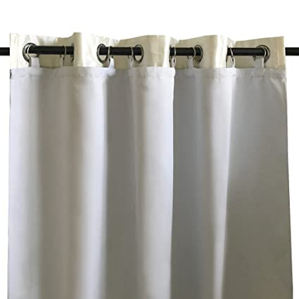 DriftAway Thermal Insulated Blackout Curtain Liner For Grommet 84 Inch Curtains Set Of 2