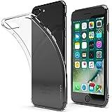 """CoverStyle® - Custodia UltraFlex 4H con Bordo TPU + Retro Antigraffio Rigido per iPhone 7 Plus (5.5"""") - Trasparente"""