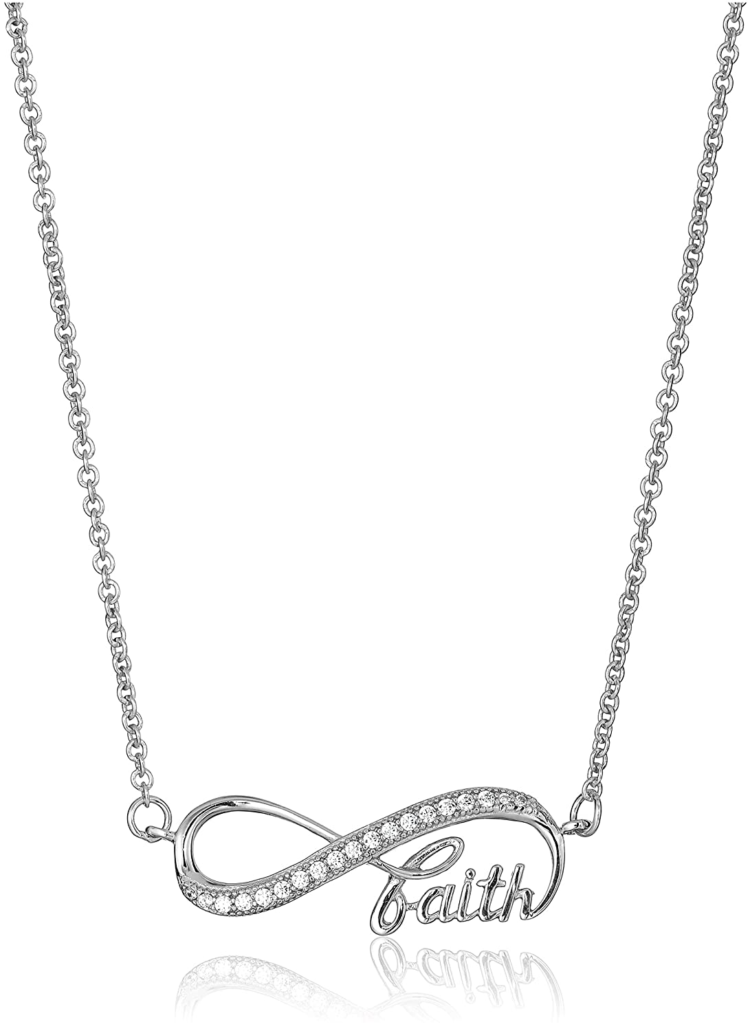 women necklace infinity casual heart com products silver pendant formal love sterling infinitesoldier and sign