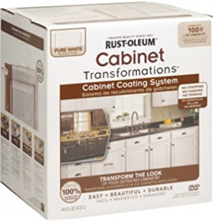 Rust Oleum 263232 Cabinet Transformations, Small Kit, Pure White