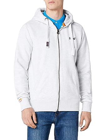 superdry herren sweatshirt orange label ziphood amazon de bekleidung  Neue Superdry Schwarz Sweatjacke Herren Online P 662 #2