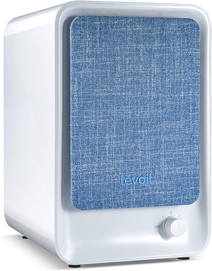 LEVOIT Smoke Air Purifier for Home, HEPA Filter for Bedroom Office Dorm