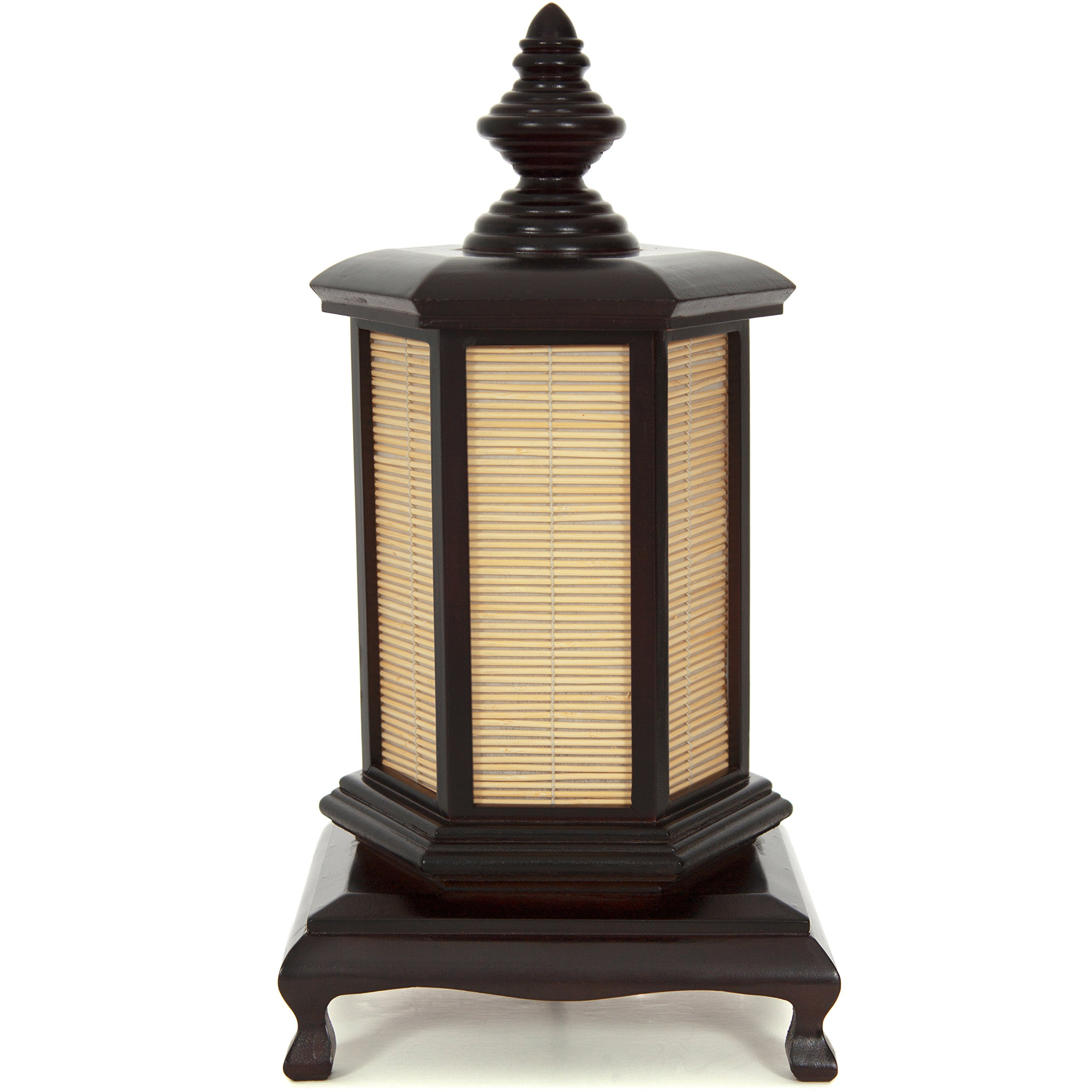 ORIENTAL FURNITURE 18'' Puggi Lamp