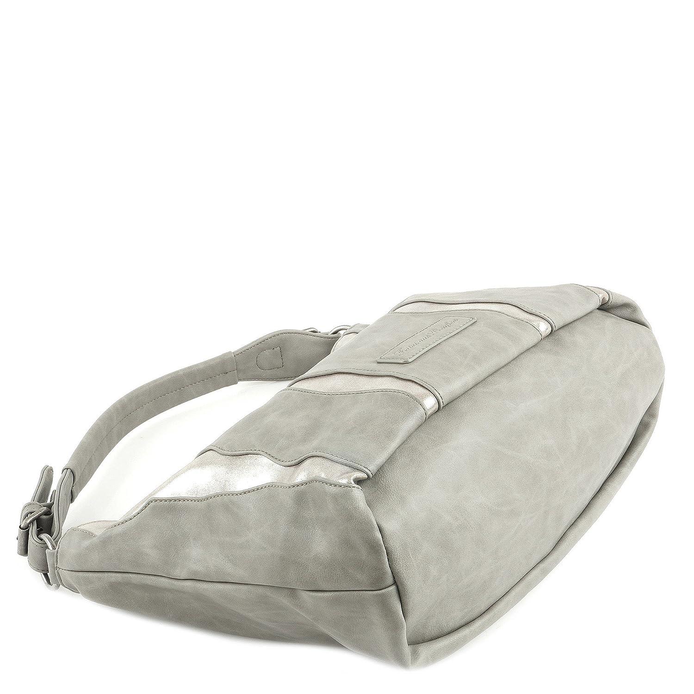 Fritzi från Preußen Salome SheenN Shoulder Bag 42 cm Grå