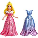 Mattel Disney Sleeping Beauty Magiclip Aurora Doll And Fashion