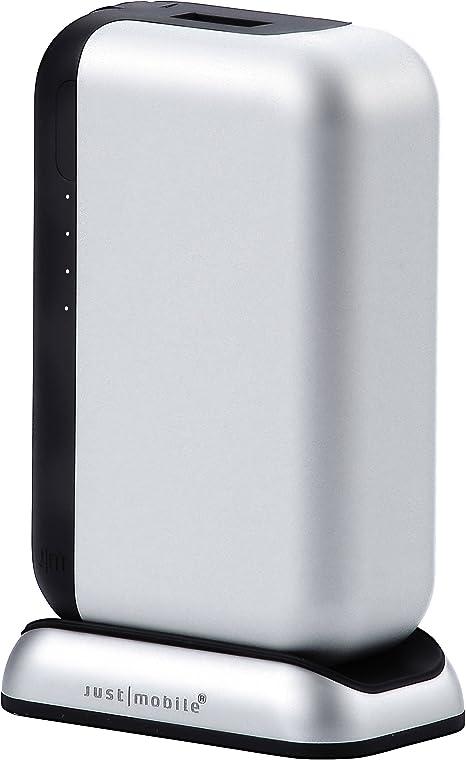 JustMobile TopGum 6000mAh Plata batería Externa - baterías ...