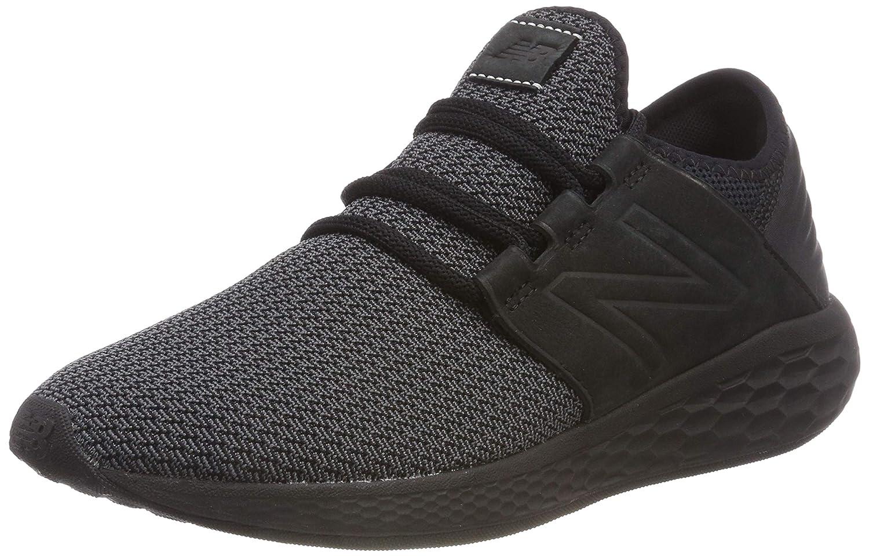 New Balance Fresh Foam Cruz V2 Knit, Zapatillas de Running para Hombre 44.5 EU|Negro (Black/Magnet Nb2)