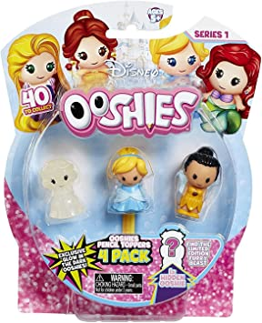 Bizak - ooshies - Princesas Disney - Pack 4 Personajes (Varios ...