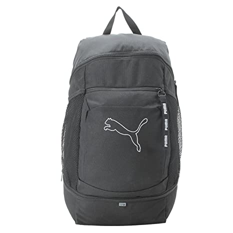 Puma Black Laptop Backpack (7567201)  Amazon.in  Bags 0338d1ee9891e