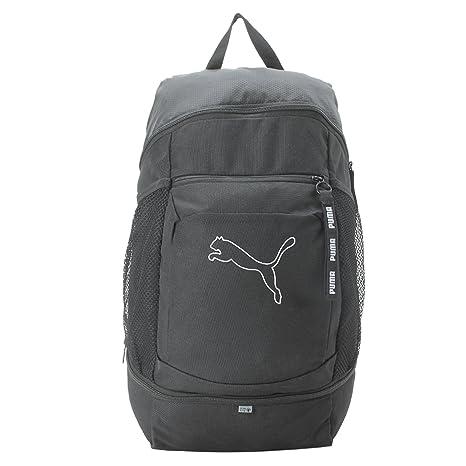 Puma Black Laptop Backpack (7567201)  Amazon.in  Bags f02aaeb009e7e