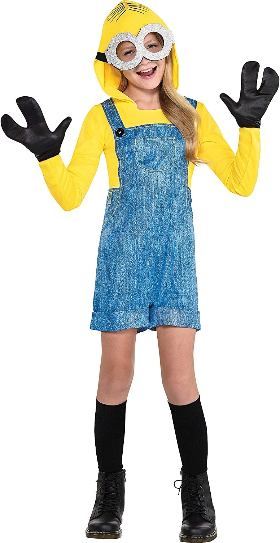 Kids Despicable Me Minions Funny Halloween Costume Jumpsuit Unisex Child Size L